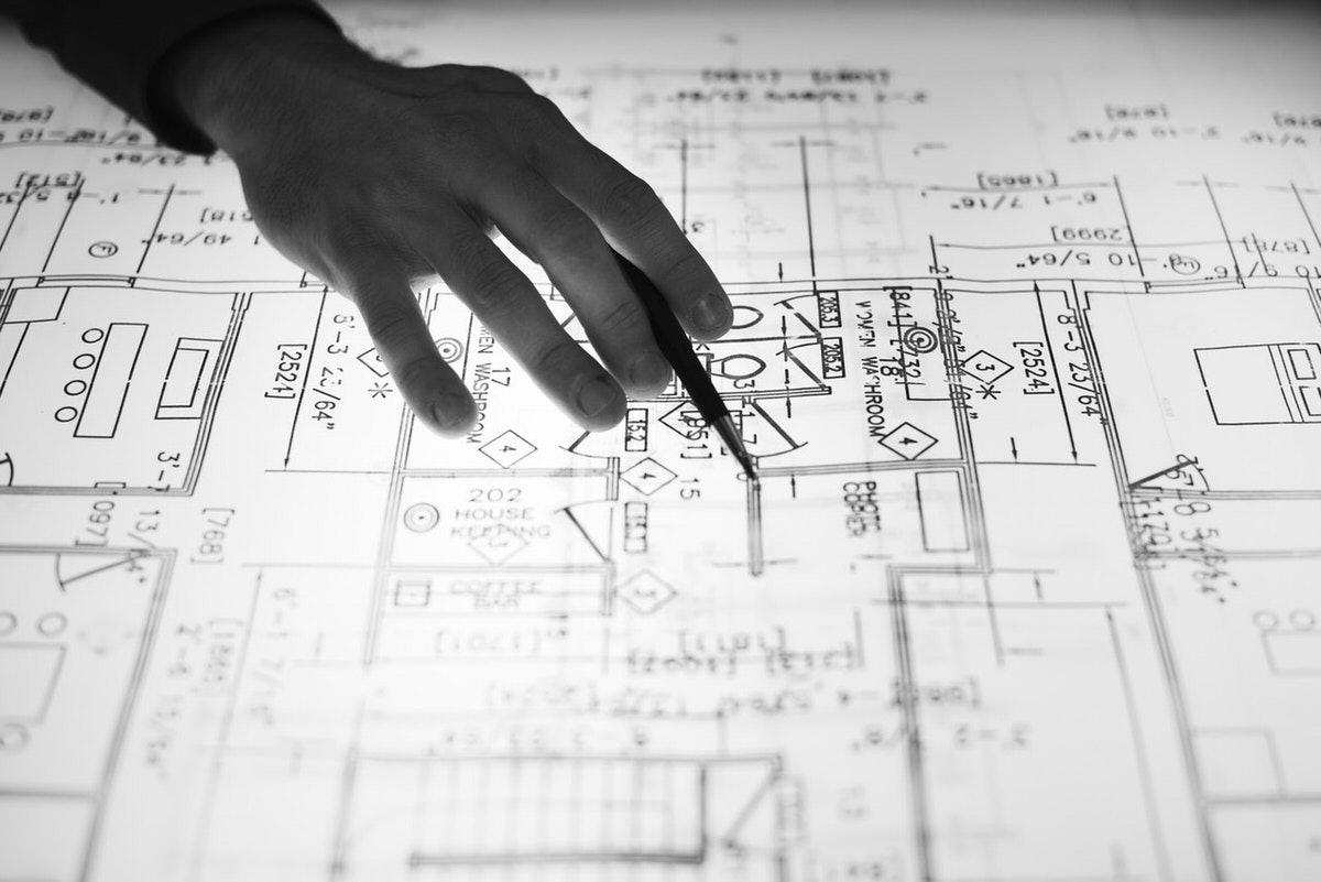 بررسی نقشه خانه جهت بازسازی