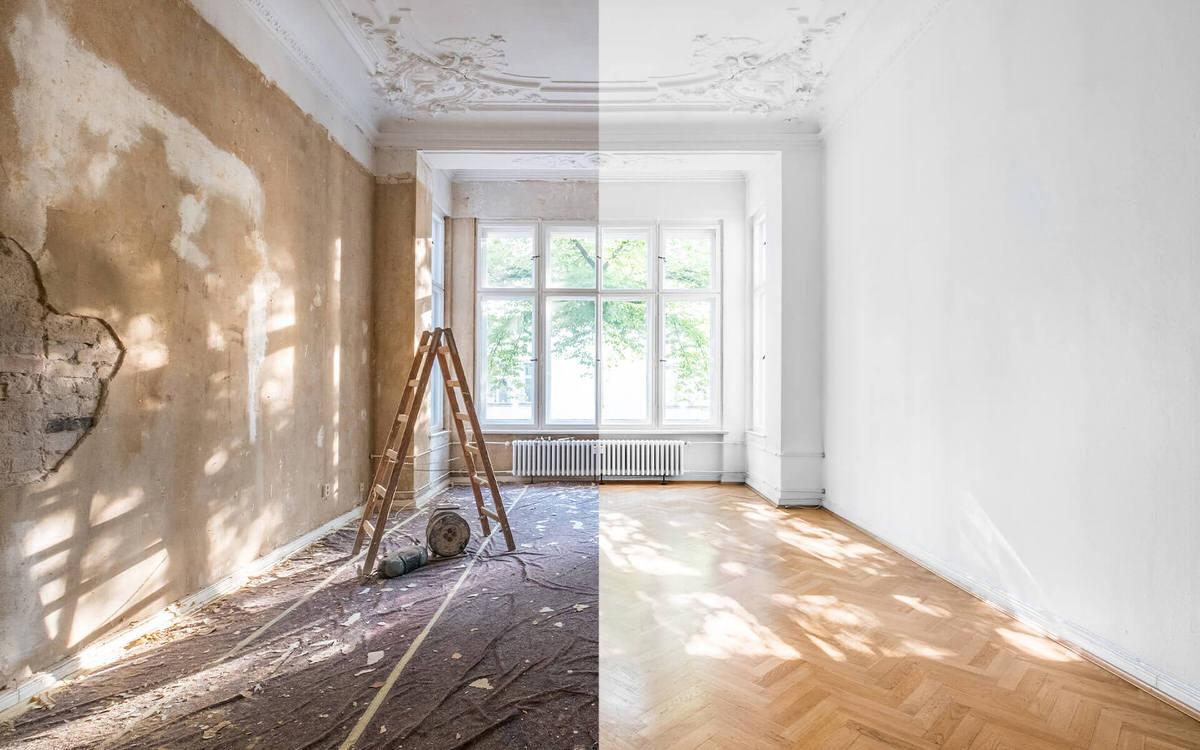 نفاوت یک خانه قبل و بعد از نوسازی
